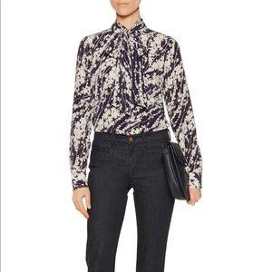 $375 Elizabeth and James Debbie blouse - XS